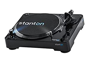 Stanton T.62 MKII Professional Direct Drive DJ Turntable with 300 Cartridge from Stanton