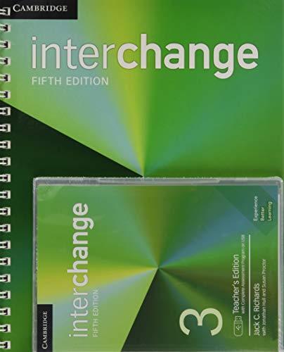 Interchange Level 3 Teacher's Edition with Complete Assessment Program