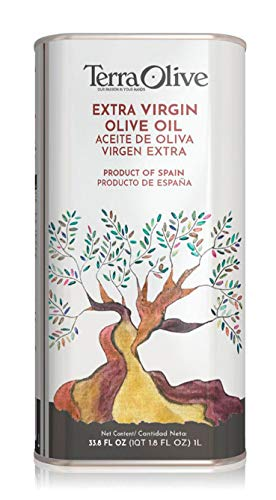 TerraOlive - Aceite de Oliva Virgen Extra (AOVE) Ecológico - Lata 1L