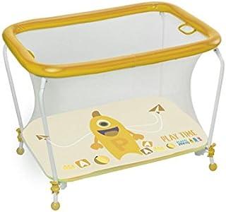 Plastimyr Plastimons - Parque rectangular color amarillo