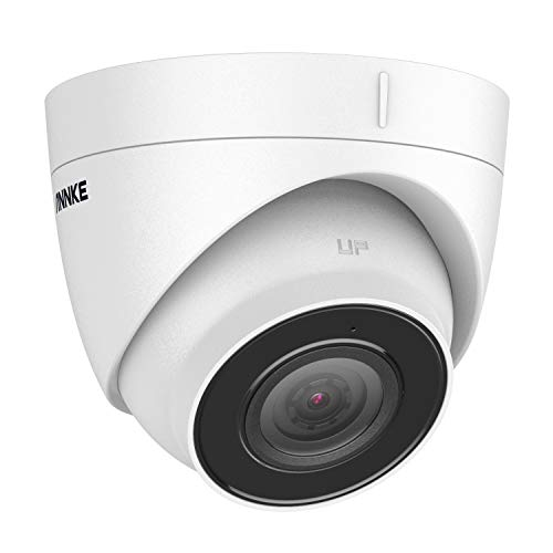 ANNKE C500 5MP PoE Security IP Turret Camera with Audio,100ft EXIR 2.0...