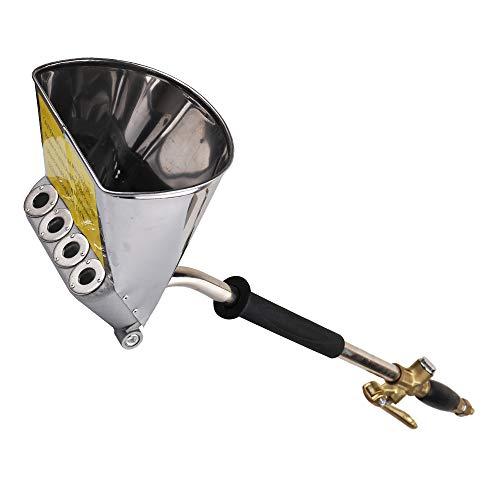KKmoon Pulverizador de Mortero Portátil Neumático,Máquina Revocadora para Proyectar Cemento y Mortero