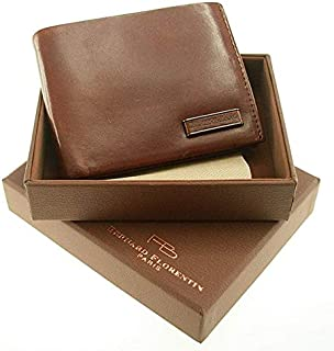 Bernard Florentin- Paris Brown Leather For Men - Bifold Wallets