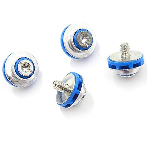 4 Stück/Los Blaue Schrauben Für HP 3.5 HDD DC7800 DC7900 8000 8100 Z400 Z600 Schrauben Isolationstülle 450712-001 Stummschaltung
