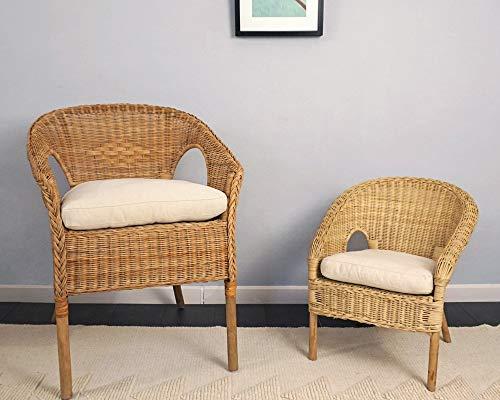 Home of Wool Non-Tufted Chair Cushion/Custom Kids Agen Chair 100% Cotton