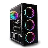 PC da gioco FPS ad alta intensità: CPU Intel Core i5 9400F, CPU a sei core, NVIDIA GTX 1660 Super 6 GB GPU, RAM DDR4 da 16 GB a 3000 MHz, SSD da 240 GB, HDD da 1 TB, Windows 10, WIFI