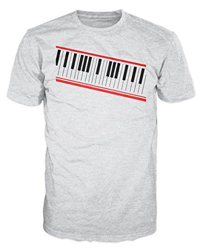 Dalesbury Digital Piano Keyboard Swag T-Shirt (Asgrijs)