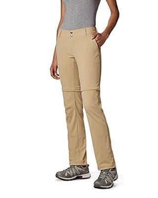 Columbia Women's Saturday Trail II Convertible Pant,British Tan,2 Short, 2 Short, British Tan