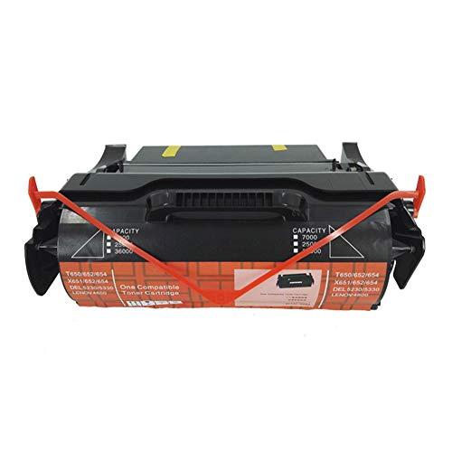 Geeignet für T620 Powder Box T620 622 IBM-IP1130 1140 Schwarze Tintenpatrone für Laserdrucker und Bürobedarf