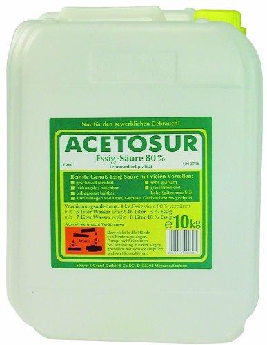 Acetosur Essig-Säure 80% 10l