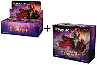 MTG Magic the Gathering Throne of Eldraine Booster Box + Bundle