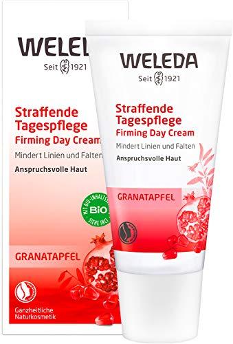 WELEDA Granatapfel Straffende Tagespflege, mindert Falten und erhöht die Elastizität und...