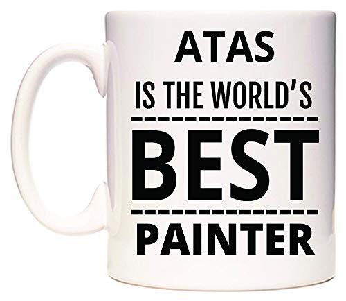 WeDoMugs ATAS is The World\'s Best Painter Becher