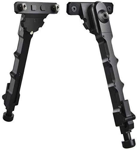 Tactical Hunting V9 Air Rifle Bipod Tripod 6-8 Inch, Soporte Separado de péndulo telescópico