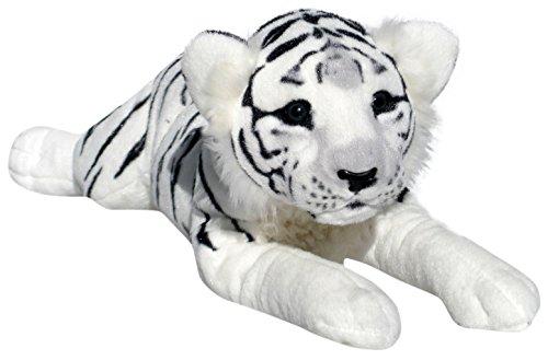 Wagner 2042 - Plüschtier Tiger Baby - liegend - Weiss - 50 cm