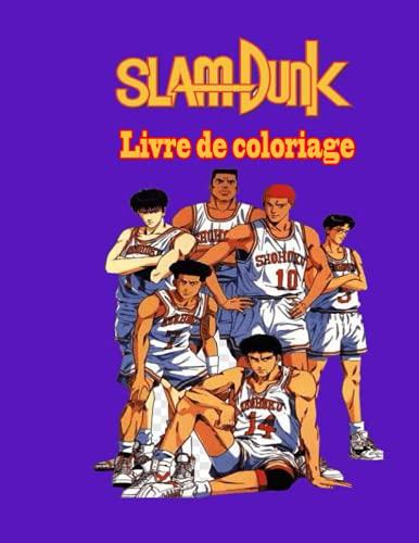 Slam Dunk livre de coloriage