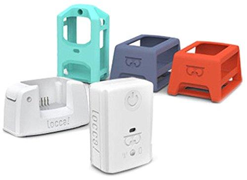LoccaMini Pet Pack Navigationsgerät inkl. Dockingstation, USB-Kabel, Netzteil und Silikon Hülle (3-er Pack)