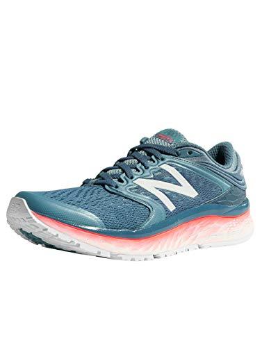 New Balance - Womens W1080V8 Shoes, 4.5 UK - Width B, Light Petrol/Smoke Blue