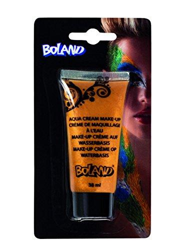 Boland Makeup Creme auf Wasserbasis, gold, 2er Pack (2 x 38 ml)
