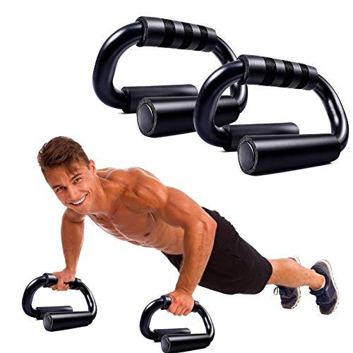 WELLXUNK Liegestützgriffe,2er-Set Liegestütze Griff,Push-Up Bar,liegestützgriffe rutschfest,Schaumgriff, Liegestütze Griff handgelenksschonend und optimal für Krafttraining und Muskeltraining