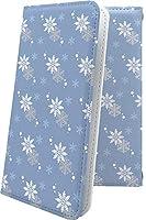 iPhone 12 ケース 手帳型 雪 雪の結晶 snow 冬 北海道 北極 南極 アイフォーン トゥエルブ 女の子 女子 女性 レディース iphone12 おしゃれ 10793-5qqefg-10001703-iphone12