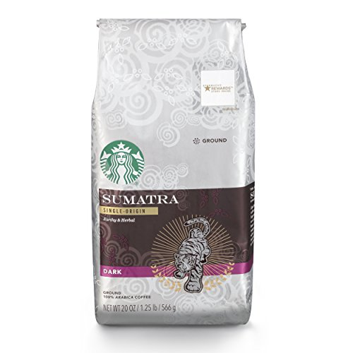 Starbucks Sumatra Dark Roast Ground Coffee, 20-ounce bag