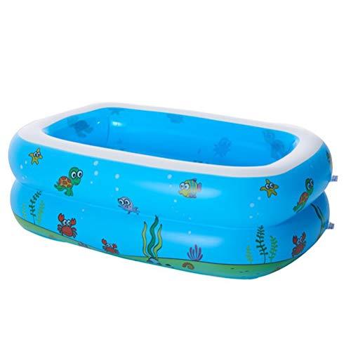 Piscina Hinchable, Al Aire Libre del Patio Trasero del Verano De Juegos De Agua Piscina Inflable Familiar para 1-3 Niños Hijos,110 * 90 * 40cm