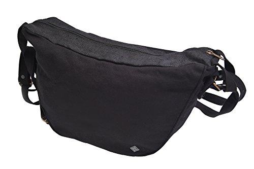 LAPPENWERK zaino di canapa di alta qualità con decorazione patchwork riciclato cartella borsa tracolla di canapa naturale come abbigliamento etnico di virblatt – Multidimensional