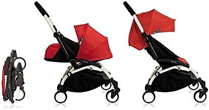 Babyzen YoYo+ Stroller Bundle (Yoyo+ Stroller, Canopy & Newborn Pack) Red