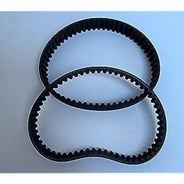 Lot de 2 courroies crantées pour scarificateur électrique Makita UV3600 / UV 3600