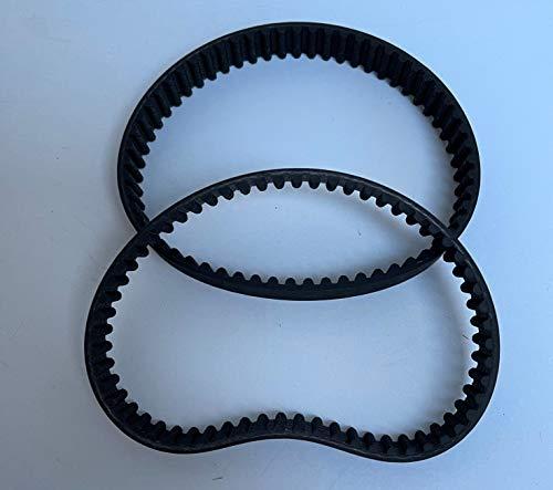 Juego de 2 correas dentadas para escarificador eléctrico Makita UV3600/UV 3600