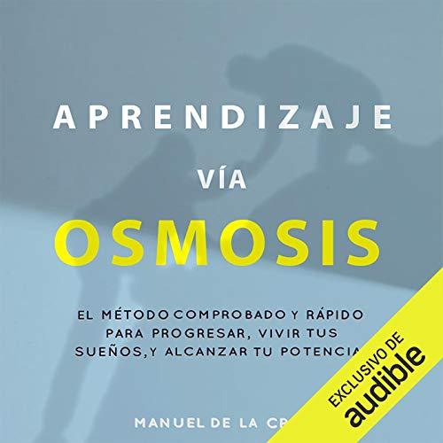 Diseño de la portada del título Aprendizaje Vía Osmosis