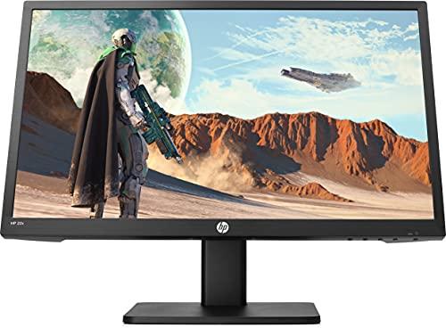 """HP 22x – Monitor Gaming de 22"""" Full HD (1920 x 1080 a 144Hz, TN, 1ms, HDMI, Antirreflejo, Antiparpadeo, Low Blue Light, Altavoces, Inclinación Ajustable) Negro"""