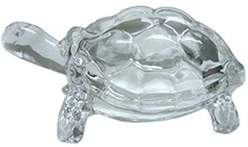 Satre Online e Marketing Crystal Glass Vastu Feng Shui Turtle, tartaruga para boa sorte e criação de riqueza
