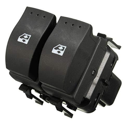 LnNcWcD Finestra Electric Car di Controllo Doppio Pulsante Interruttore/Fit for Renault Clio II 2 8200 060 045