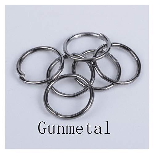 De múltiples fines 200 unids / lote anillos de salto de los accesorios de bricolaje Los hallazgos de los bucles individuales con los conectores de los anillos de la joyería para la fabricación de joya