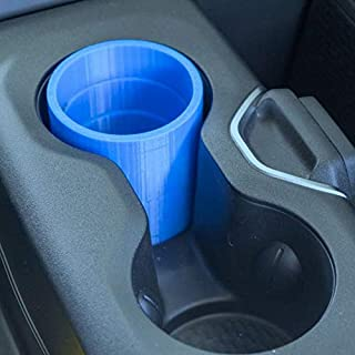 The Corona Red Bull/Skinny Can Car Cup Holder Adapter - Never Spill Again !!!! (Blue)