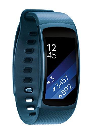 Samsung Gear Fit2 - Blue, Medium/Large