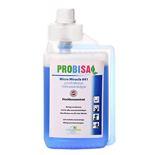 Bio-universele reiniger, raam- en allesreiniger Probisa Micro Miracle 841 (500ml concentraat geeft 25 liter milieuvriendelijke huishoudelijke schoonmaak)
