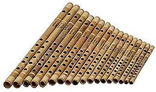 Professional Bamboo Transverse Flute Set Indian Basuri Woodwind Musical Instrument | Vrindavan Bazaar
