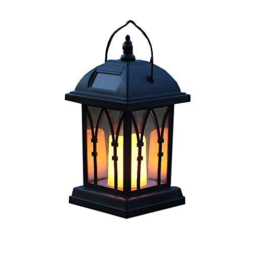 MAONB Landschapsverlichting gazonlampen tafellampen decoratieve LED zonnelampen voor buiten waterdicht hangend zuilen windlicht zonne-tuinlantaarn [energieklasse