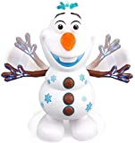Versión mejorada Canto eléctrico/Caminar/Bailar/Muñeco de nieve Olaf Robot de juguete con música/LED, Juguete interactivo para niños/Regalos educativos para bebés