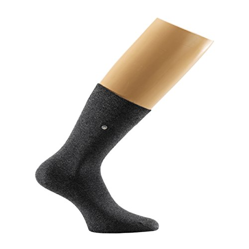 Snap Sock 2-er Pack Baumwolle Basic anthrazit