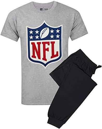 Conjunto de Camiseta de Pijama y pantalón Lounge con Juego de fútbol Americano