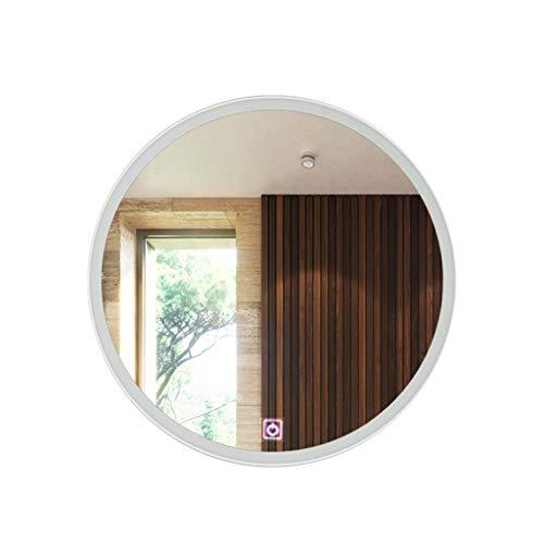 Vast LED-badkamerspiegel met ronde, anti-mistlamp, anti-condens-verwarming, wandbehang 20.03.04