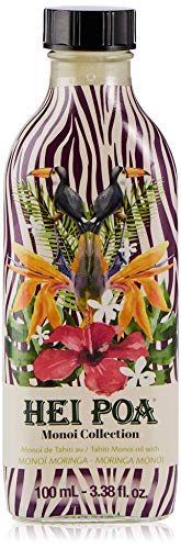 Hei Poa, Aceite corporal (Monoï Puro de Tahití, Perfume Moringa) - 100...