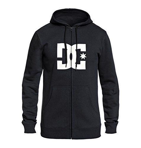 DC Shoes Star ZH Sweat-Shirt à Capuche Homme Anthracite/Solid FR : S (Taille Fabricant : S)