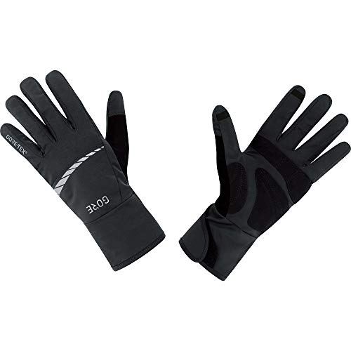 GORE Wear Men's Waterproof Bike Gloves, GORE Wear C5 GORE-TEX Gloves, Size: L, Color: black, 100263