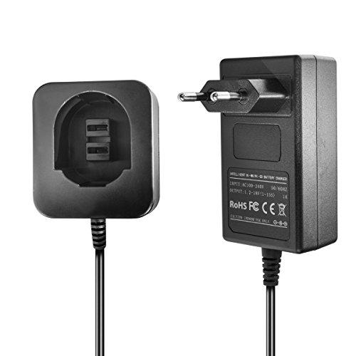 Ladegerät kompatibel mit Dewalt/Black & Decker Ni-MH/Ni-CD Werkzeug-Akkus 3.6V, 7.2V, 9.6V, 12V, 14.4V, 18V - 1.5A, 1A