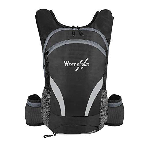 Westlight, zaino da bicicletta da uomo e da donna, 16 l, leggero, per uso quotidiano, impermeabile, per moto, trekking, sport, MTB, sci